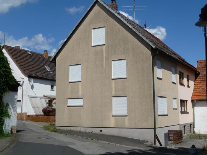 Blick auf das Wohnhaus